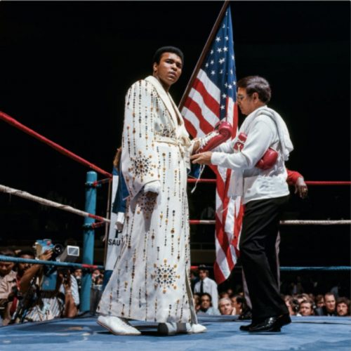 Fit for a King, Ali vs. Bugner, 1973 by Neil Leifer at
