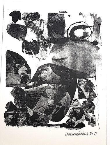 Test Stone 1 by Robert Rauschenberg at