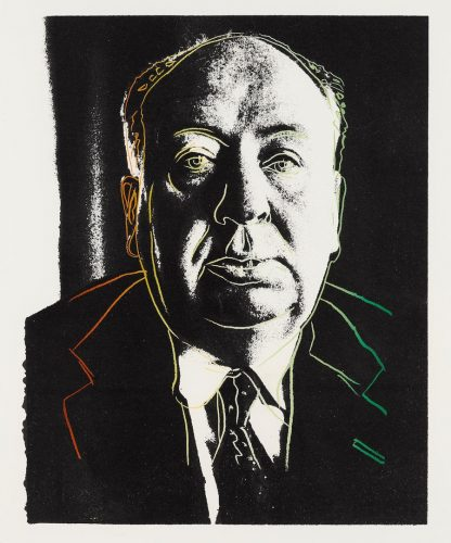 Alfred Hitchcock by Andy Warhol at Andy Warhol