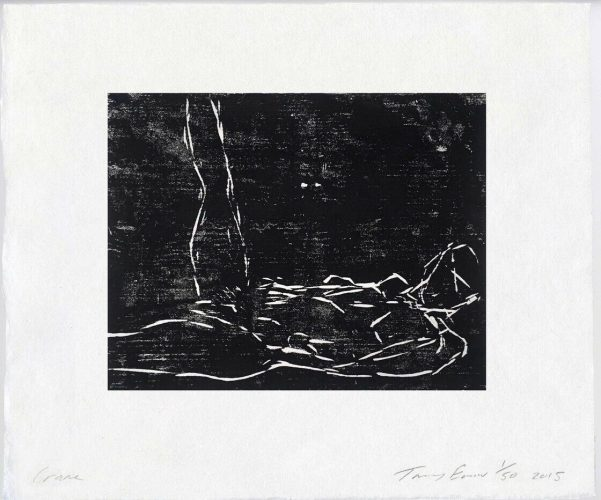 Crane by Tracey Emin at