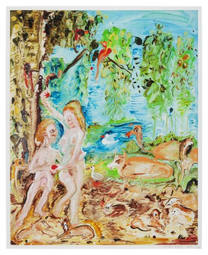 Genieve Figgis Adam and Eve by Genieve Figgis at