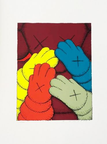 Urge (Maroon) by KAWS at