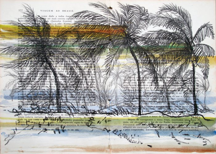Summer Season – Imbassahy, Bahia by Teresa Berlinck at Galeria Gravura Brasileira