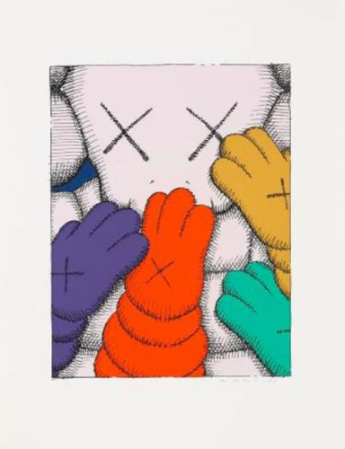 Urge (White) by KAWS at