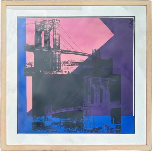 Brooklyn Bridge by Andy Warhol at