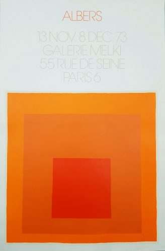 Galerie Melki (Homage to the Square) by Josef Albers at Graves International Art