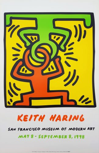 sfmoma (Headstand) by Keith Haring at