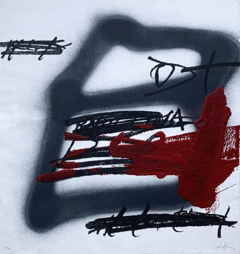 Forma Ombrejada by Antoni Tapies at