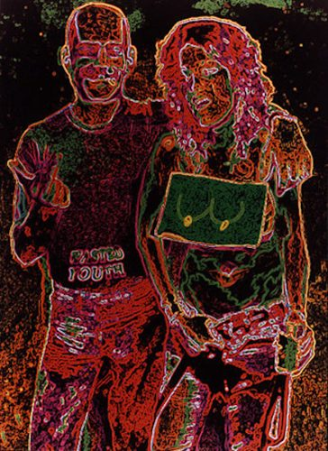 Wasted Youth by Leon Golub at