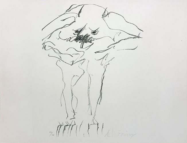 Clam Digger from Portfolio 9 by Willem De Kooning at
