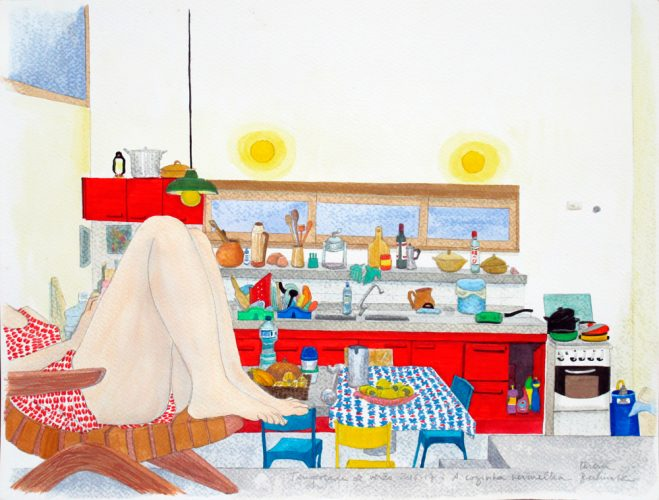Summer Season – The Red Kitchen by Teresa Berlinck at