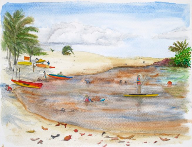 Summer Season – Imbassahy, Bahia by Teresa Berlinck at