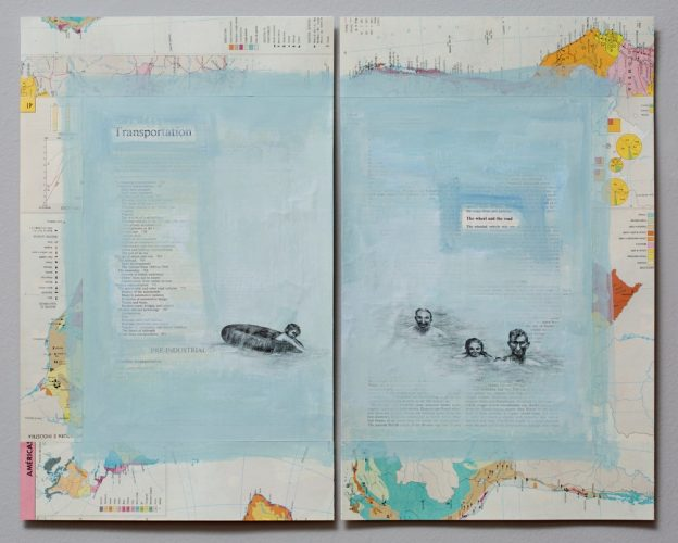 Latin America Road Atlas # 1 by Teresa Berlinck at