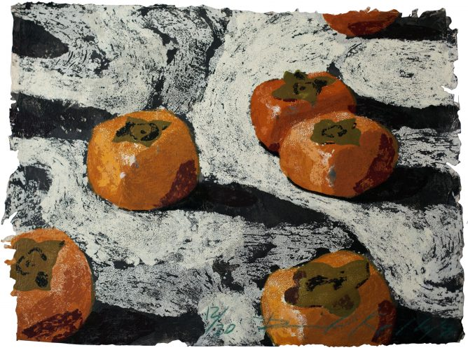 Persimmons by Daniel Kelly at