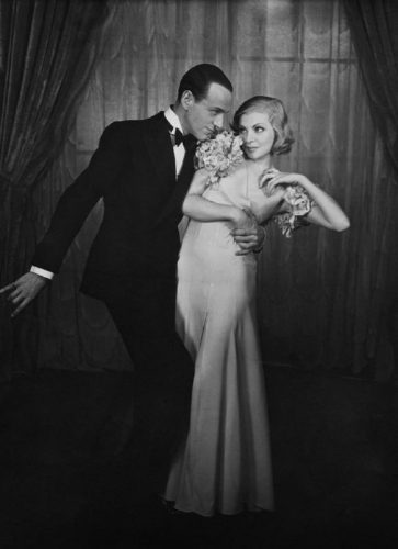'Astaire And Luce' 1932 Houston Rogers Print by Houston Rogers at