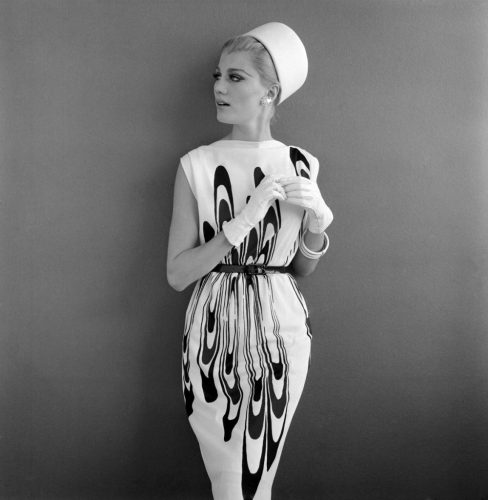 'Cocktail Dress' 1963 John French Print by John French at