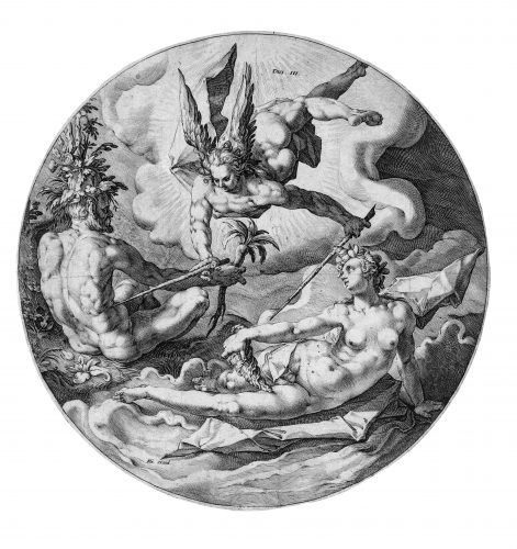 The Creation of the World – Dies III by Jan Harmensz Muller at