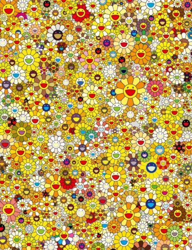 An Homage to IKB 1957 E (Yellow) by Takashi Murakami at