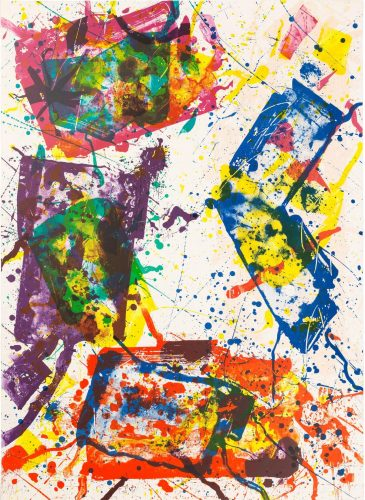 Untitled (SF-269) by Sam Francis at