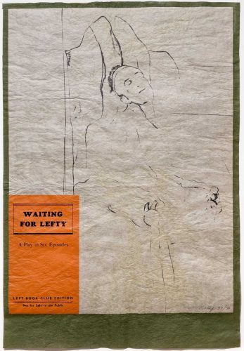 Waiting for Lefty by R.B. Kitaj at