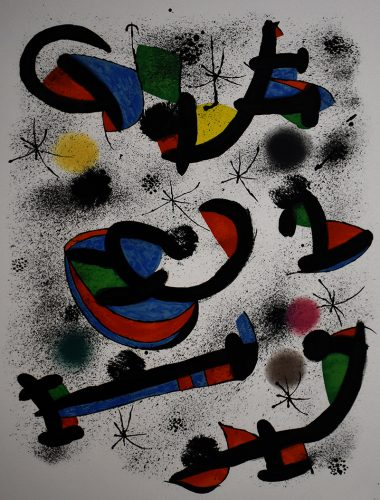 The Musical Seance, from: Allegro Vivace| La séance de musique by Joan Miro at Gilden's Art Gallery (IFPDA)