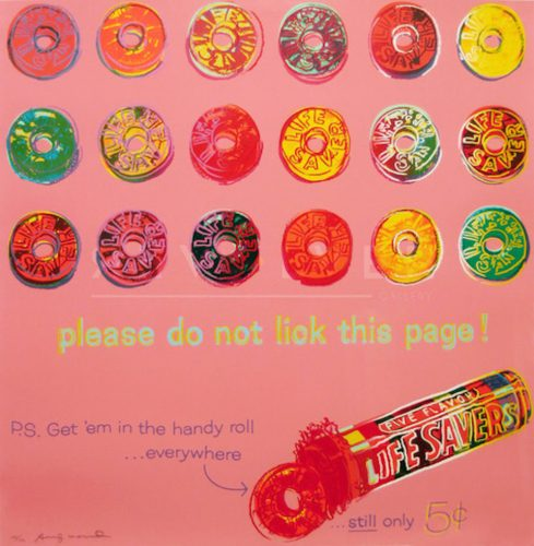 Life Savers (FS II.353) by Andy Warhol at