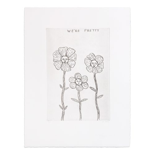 We're Pretty by David Shrigley at