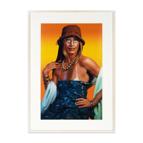 Untitled (Self-Portrait with Sun Tan) by Cindy Sherman at