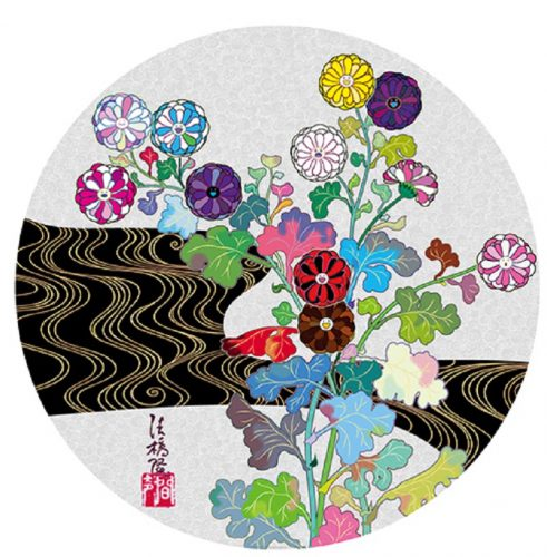 Korin: Tranquility by Takashi Murakami at