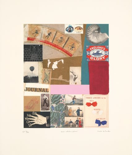 Red White & Blue by Peter Blake at ARTContent Editions Limited