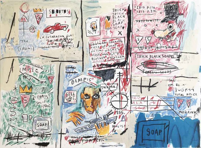 Olympic by Jean-Michel Basquiat at