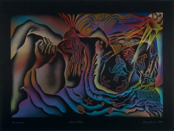 The Creation by Judy Chicago at Turner Carroll Gallery