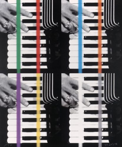 Concerto for Two by John Baldessari at