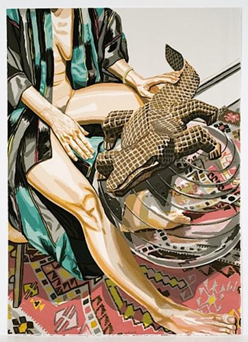 Alligator by Philip Pearlstein at ARTContent Editions Limited