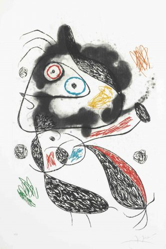 La Fugitive by Joan Miro at