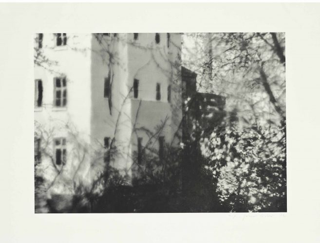 Besetztes Haus (Squatter's House) by Gerhard Richter at