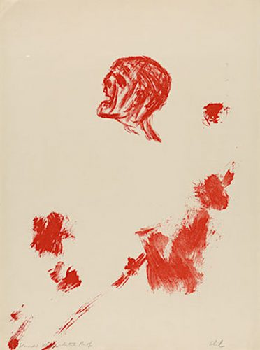 Wounded Warrior by Leon Golub at ARTContent Editions Limited