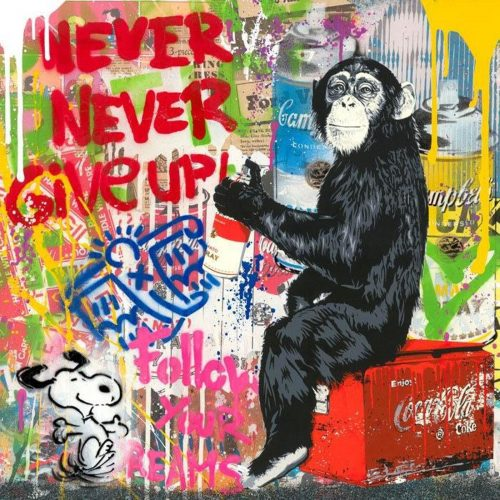 Everyday Life by Mr. Brainwash at
