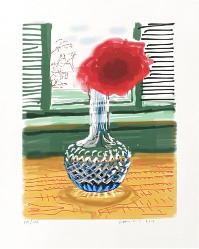 My Window. Art Edition (No. 251–500) 'No. 281', 23rd July 2010 by David Hockney at Fairhead Fine Art