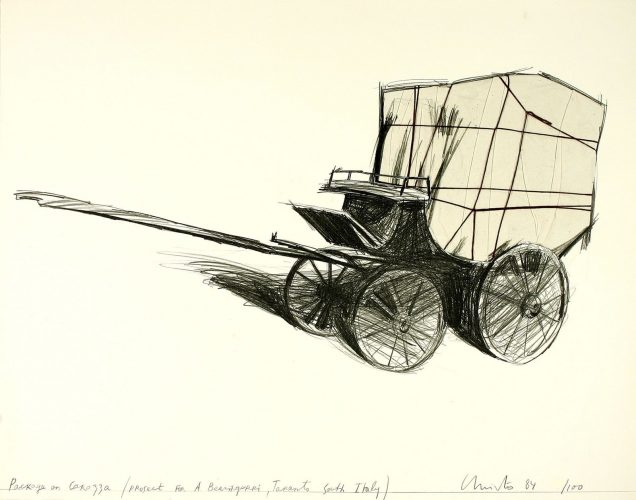 Package on Carrozza by Christo at