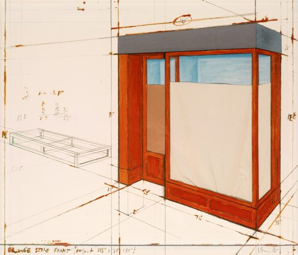 Orange Store Front project by Christo at
