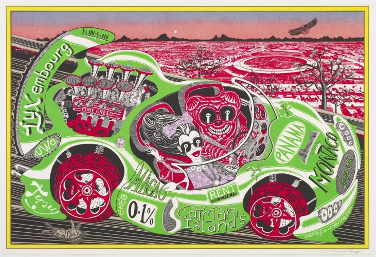 Sponsored By You by Grayson Perry RA at Rhodes Contemporary Art