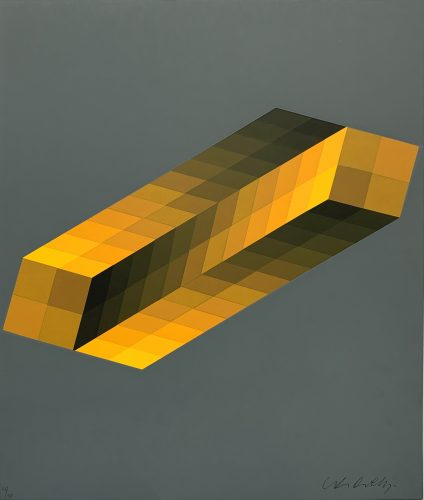 Tridim by Victor Vasarely at
