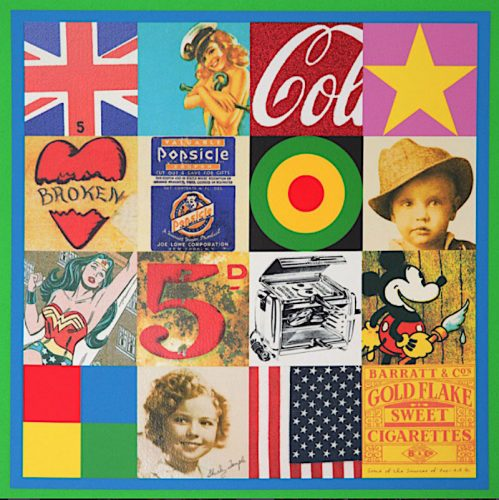 Some of the Sources of Pop Art IV by Peter Blake at