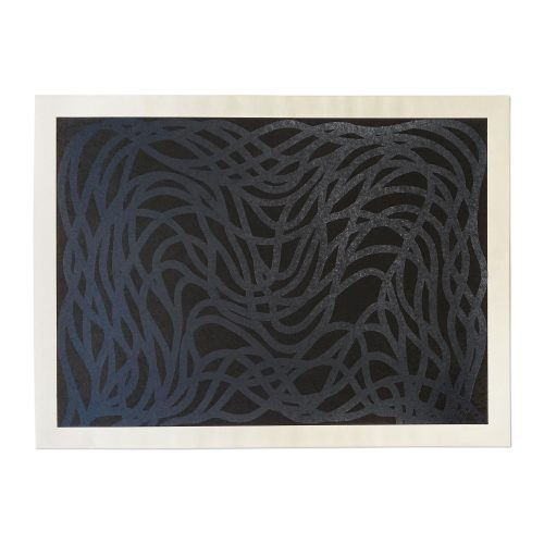 Loopy Doopy (Black/Gray) by Sol LeWitt at