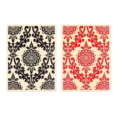 Parlor Pattern (Set of Two) by Shepard Fairey at