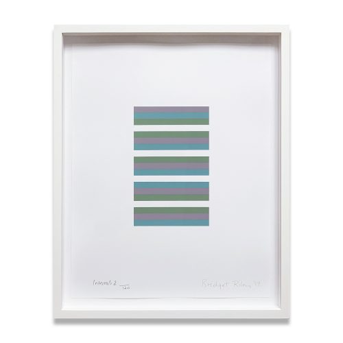 Intervals 2 by Bridget Riley at