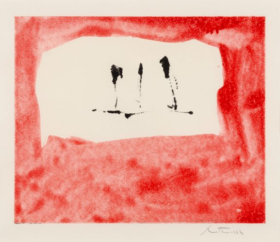 Untitled (Phoenician Red) by Robert Motherwell at