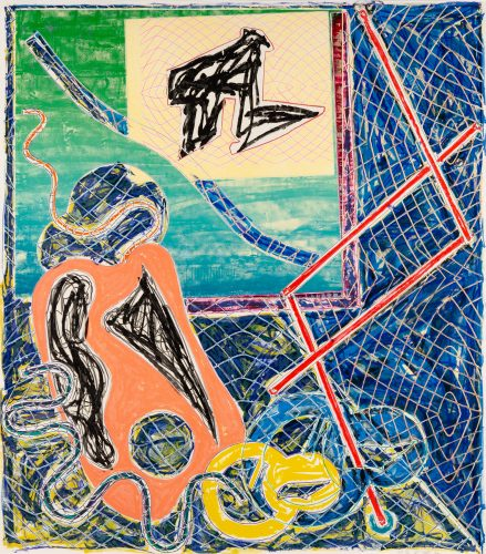 Shards Variant 1a by Frank Stella at