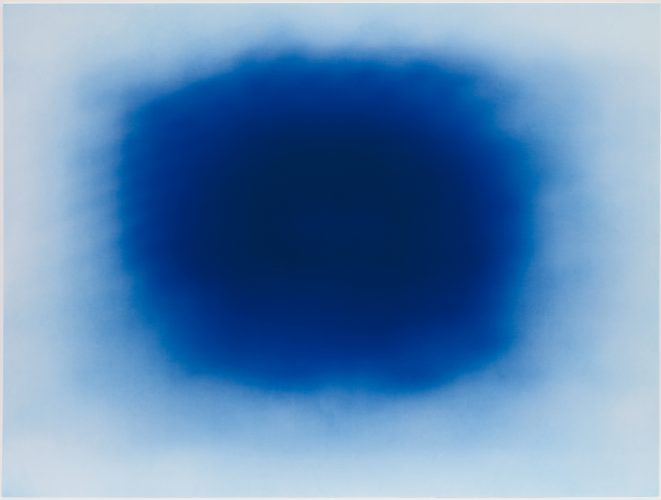 Breathing Blue by Anish Kapoor at